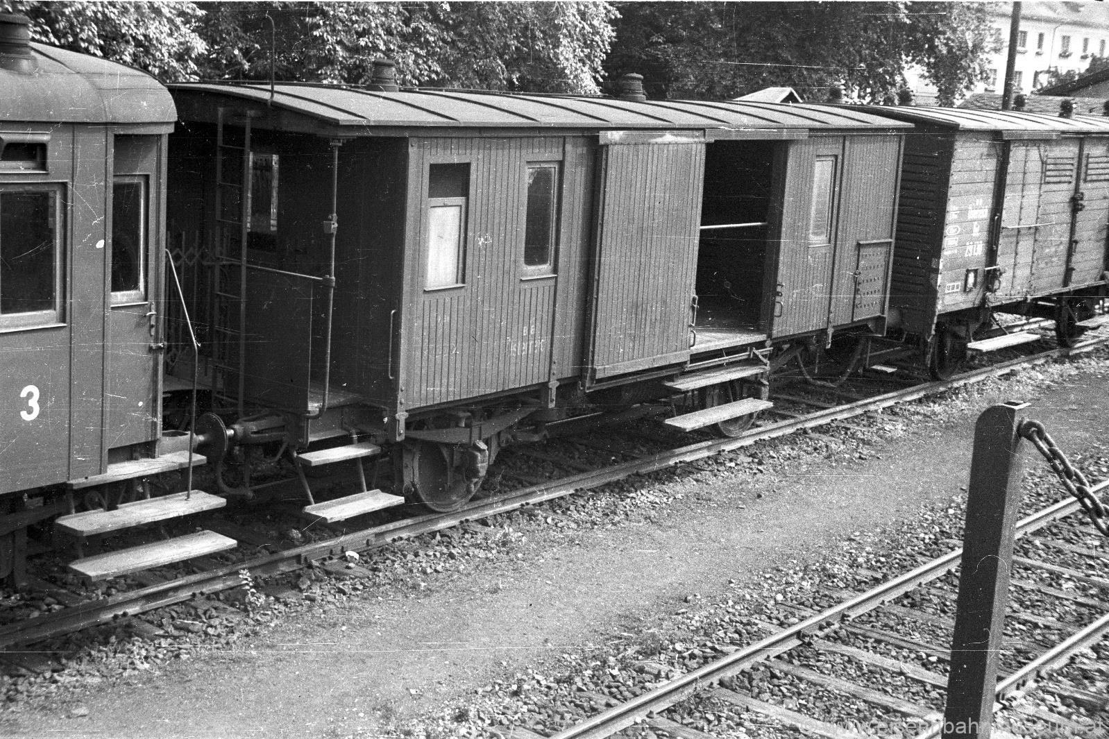Dienstwagen kkStB Di 15214