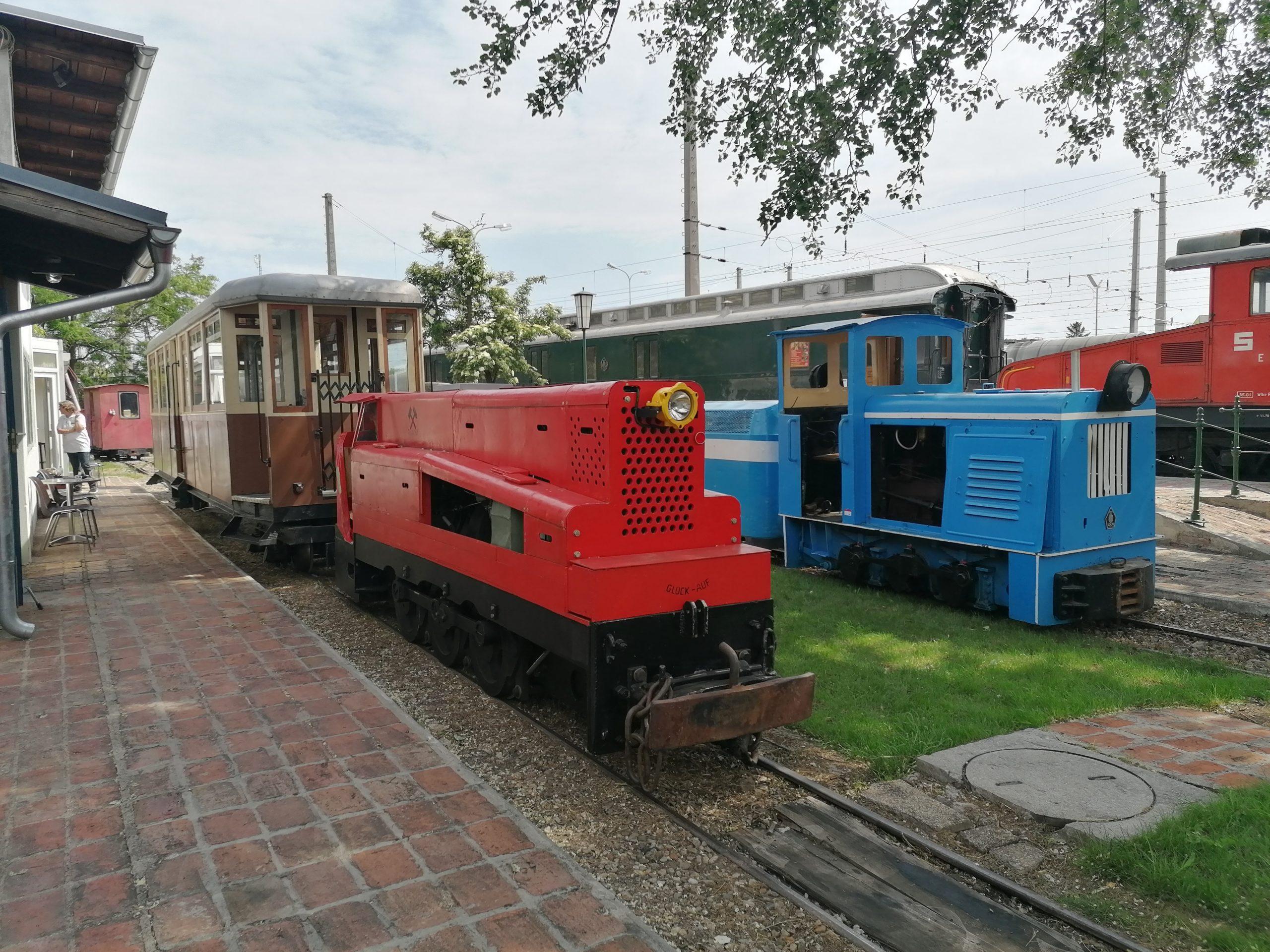 Ihr Besuch im Eisenbahnmuseum