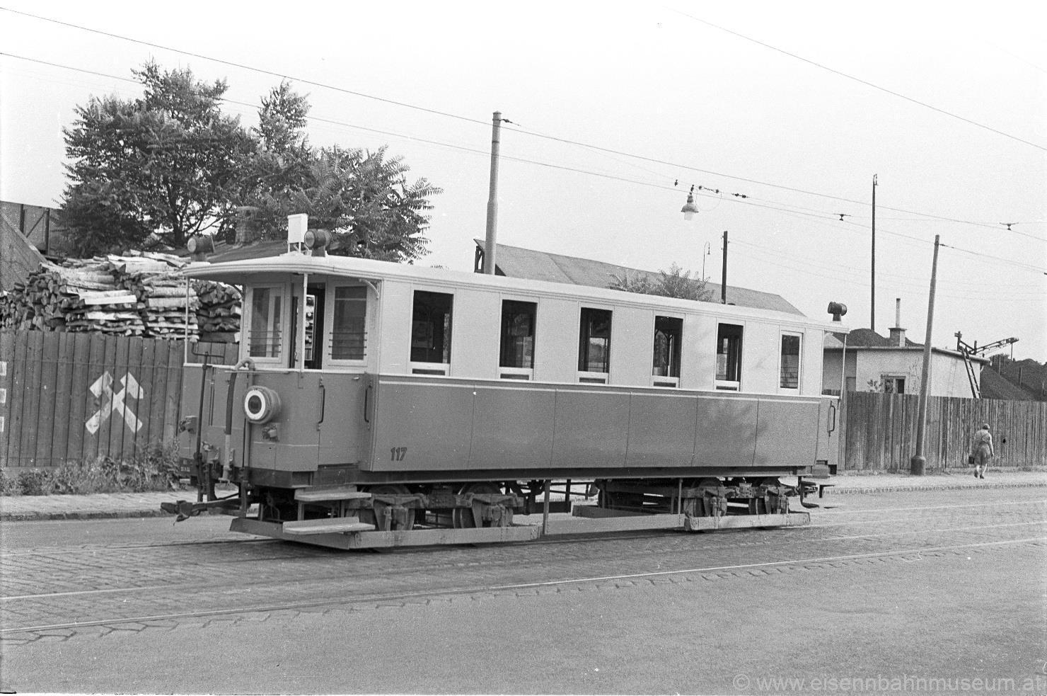 Personenwagen WLB 117